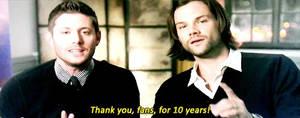 Ten years, thank you!