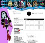 Monster high: Igraine bio (updated version)