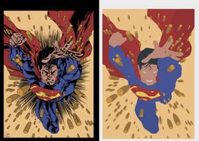 superman flats by alexasrosa