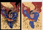 superman flats
