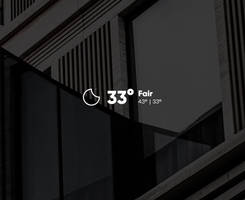 Small Clean Weather Animated!