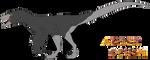 Velociraptor Amber Design Template by PrimalInstincts