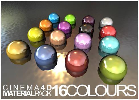 16 Cinema 4D Materials