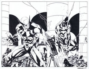 Wolverine and Scarlet Spider Commission