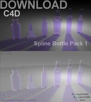 C4D Spline Bottle Pack 1
