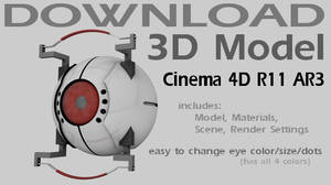 3D Model Download -GLaDOS Core