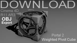 OBJ - Portal Pivot Cube Model