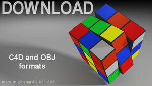 Download - Rubik's Cube Model