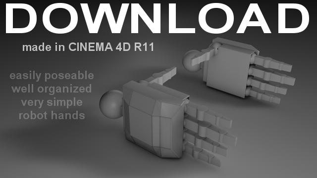 Download - Robot Hand Set 1 by 100SeedlessPenguins on DeviantArt