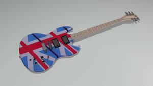 Gibson SG - Free 3D Model -C4D