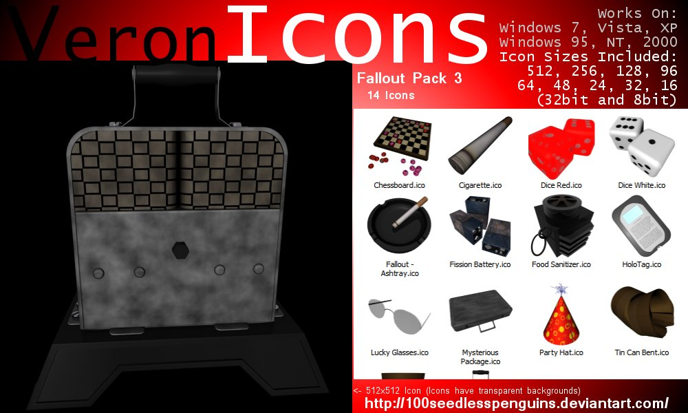 VIcons - Fallout Pack 3