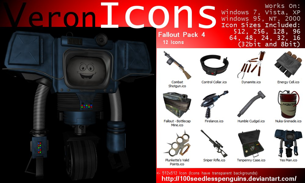 VIcons - Fallout Pack 4