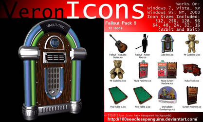 VIcons - Fallout Pack 5