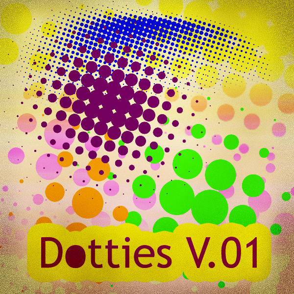 Dotties V.01 Photoshop Brush by blubird