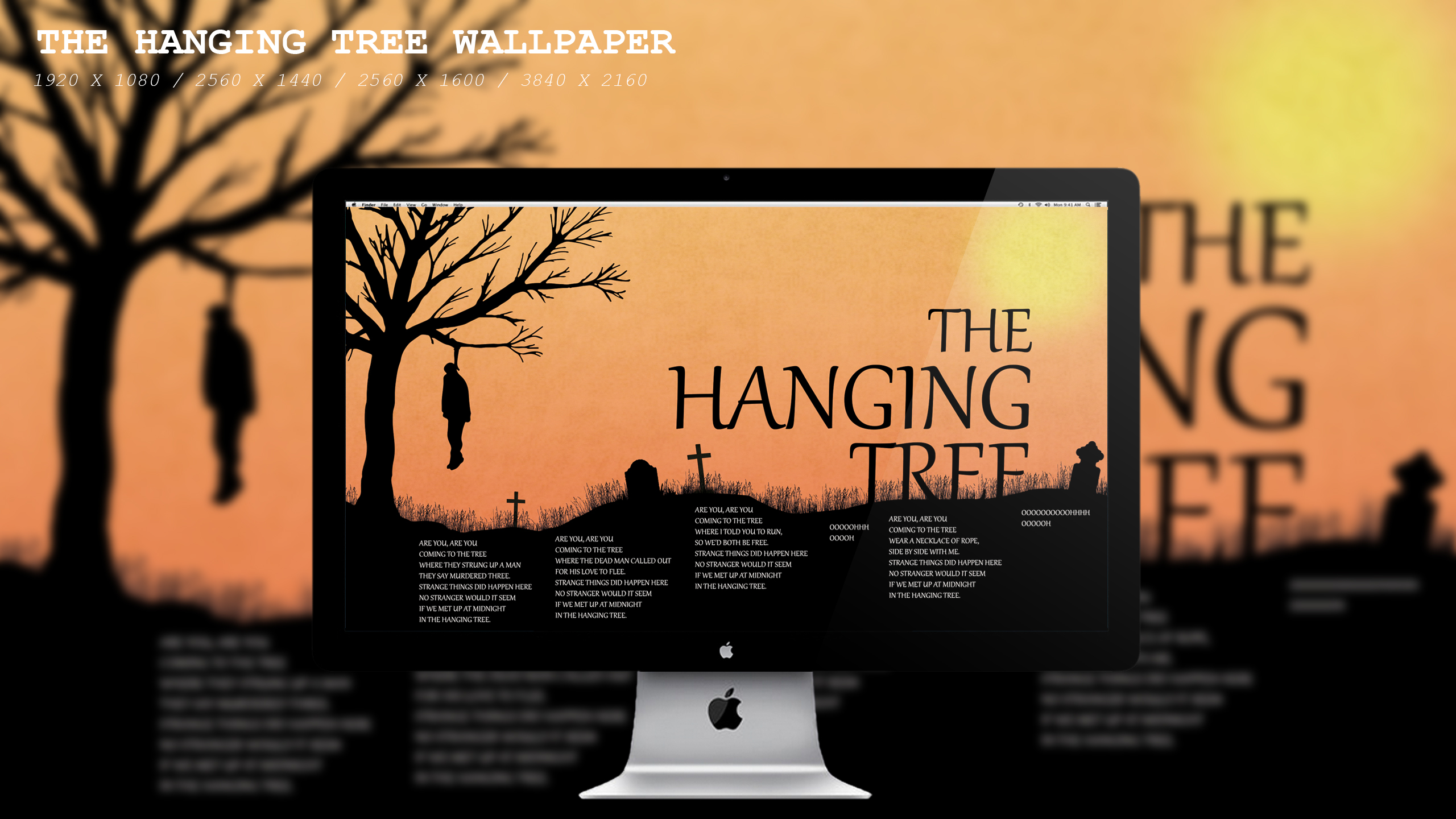 The Hanging Tree Wallpaper Hd By Beaware8 On Deviantart
