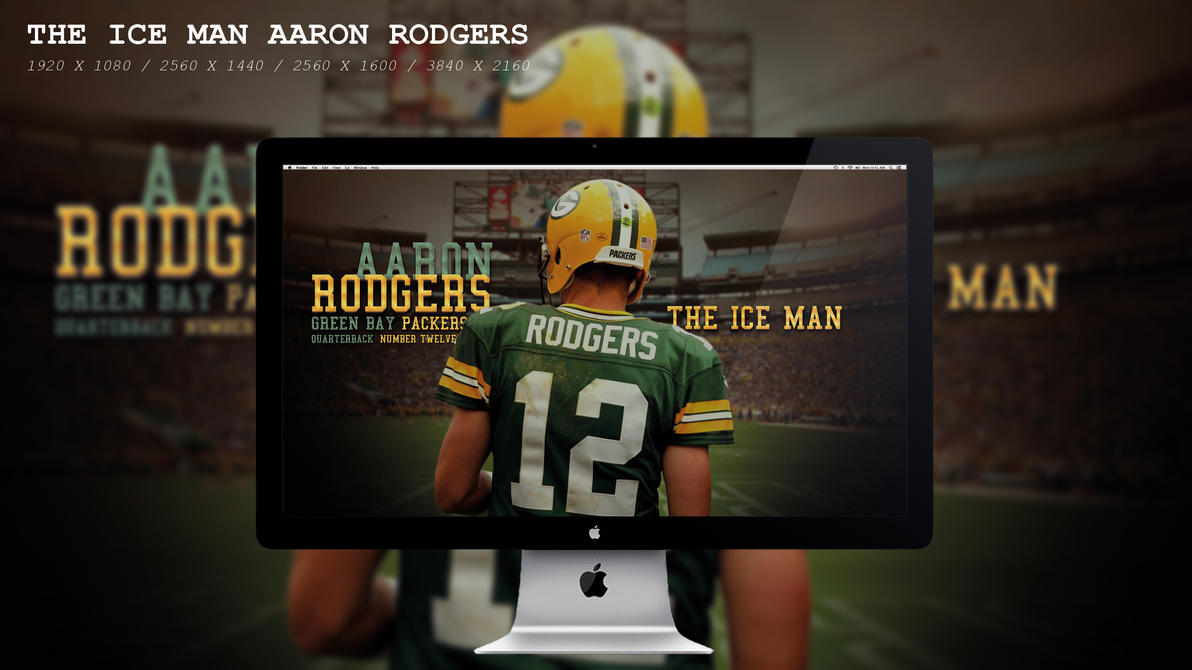 The Ice Man Aaron Rodgers Wallpaper HD by BeAware8
