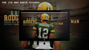 The Ice Man Aaron Rodgers Wallpaper HD