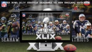 Super Bowl XLIV Seattle Seahawks Vs Patriots