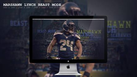 Marshawn Lynch Beast Mode Wallpaper HD by BeAware8
