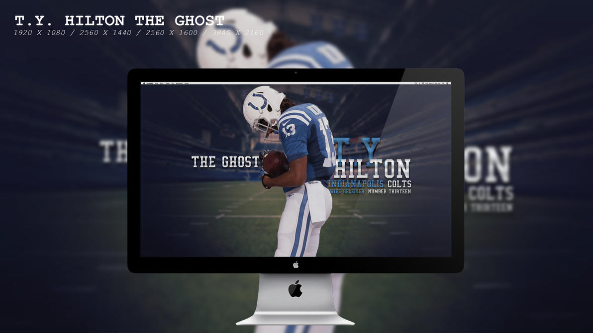 T.Y. Hilton The Ghost Wallpaper HD by BeAware8