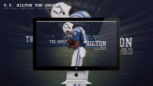 T.Y. Hilton The Ghost Wallpaper HD