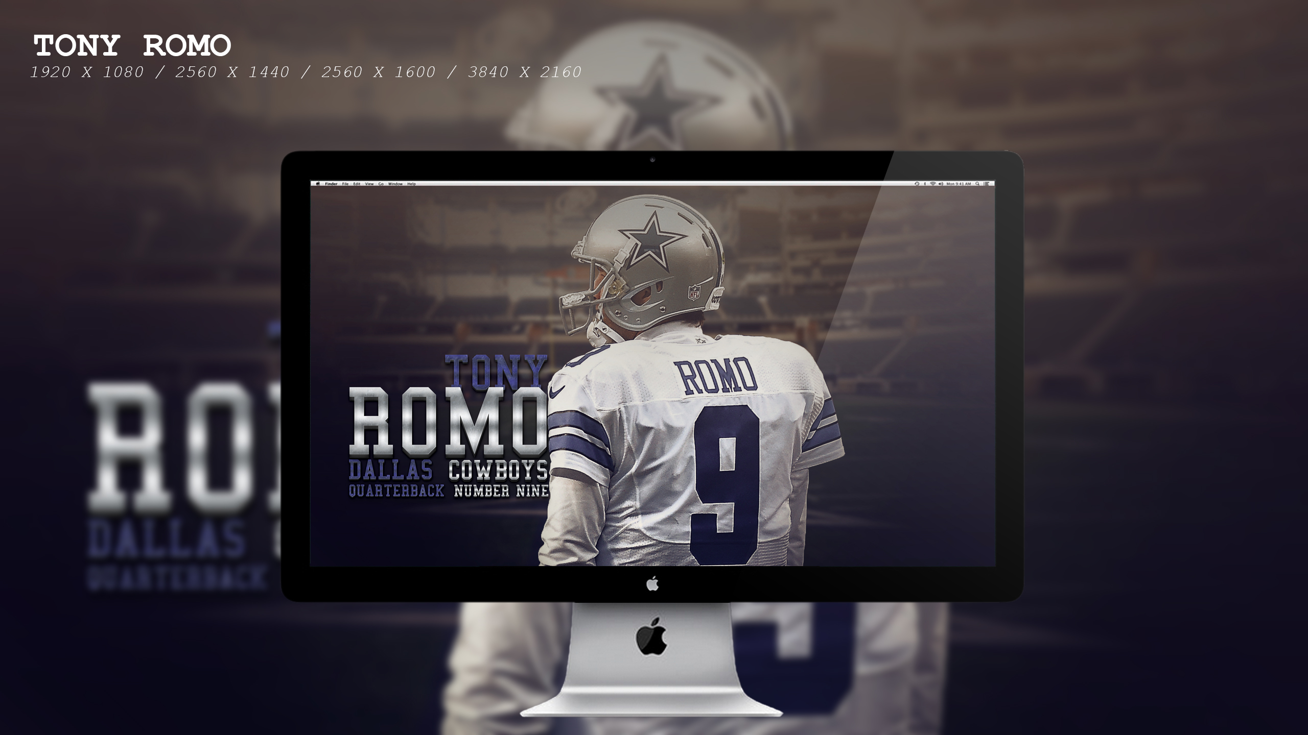 Tony Romo Wallpaper HD by BeAware8 on