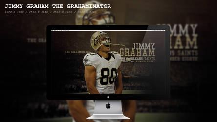 Jimmy Graham The Grahaminator Wallpaper HD by BeAware8