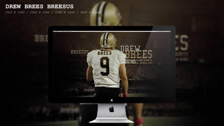 Drew Brees Breesus Wallpaper HD by BeAware8