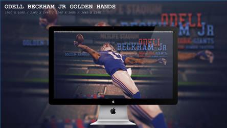Odell Beckham Jr Golden Hands Wallpaper HD by BeAware8