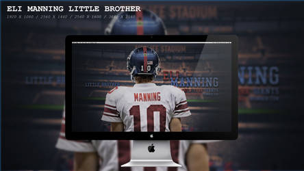 Eli Manning little brother Wallpaper HD by BeAware8
