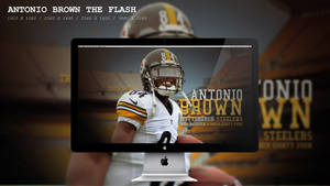 Antonio Brown The Flash Wallpaper HD