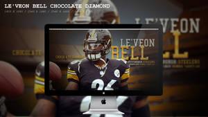 Le'Veon Bell Chocolate Diamond Wallpaper HD