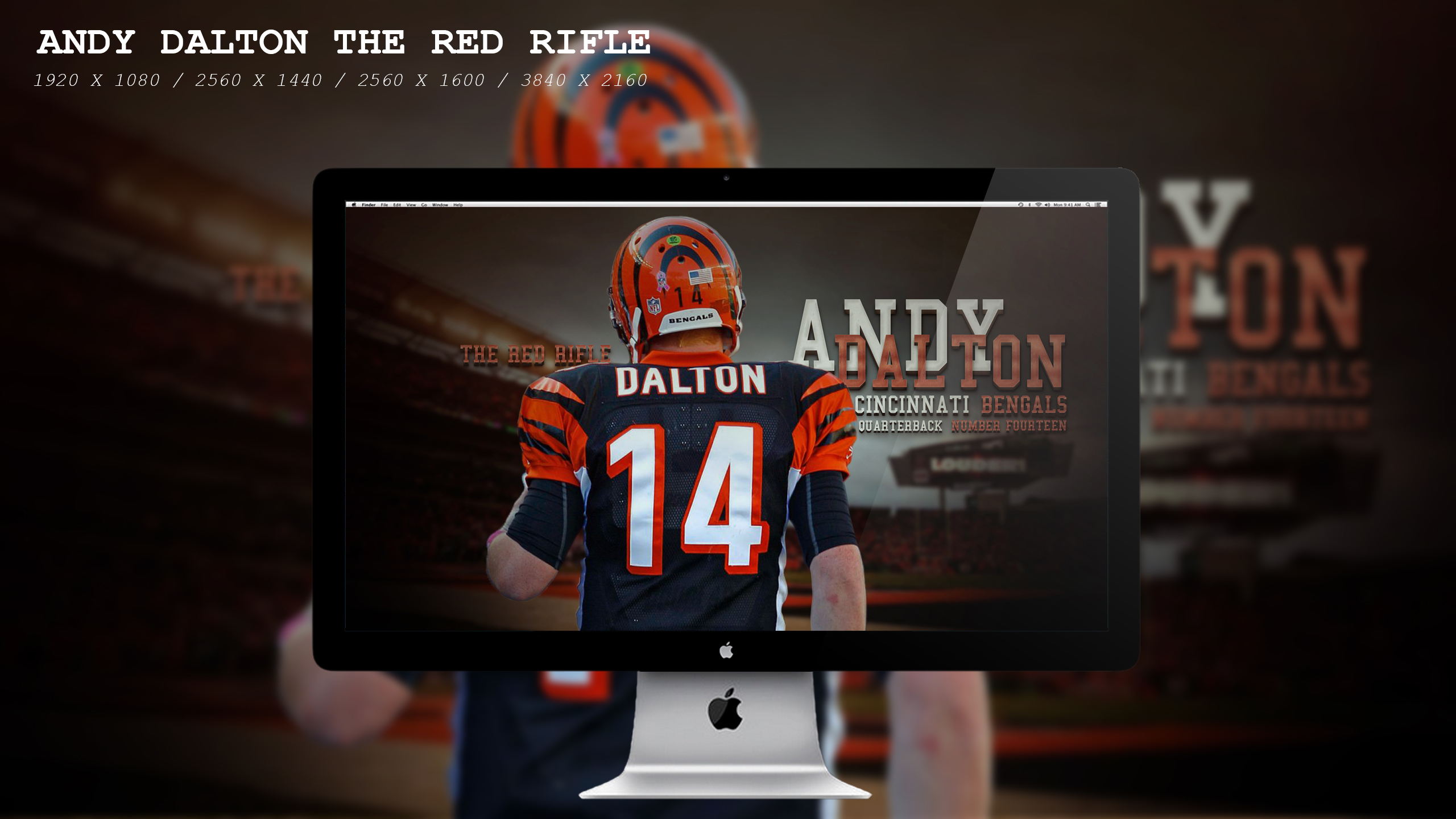 Andy Dalton The Red Rifle Wallpaper HD By BeAware8 On