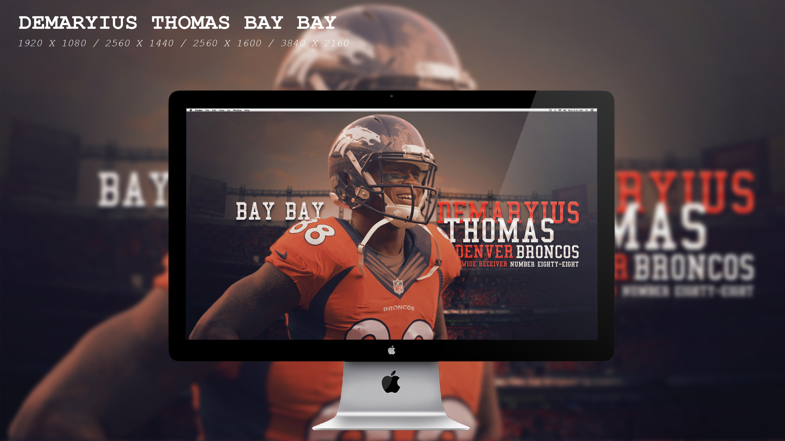 Demaryius Thomas Bay Bay Wallpaper HD by BeAware8 on ...Demaryius Thomas Wallpaper