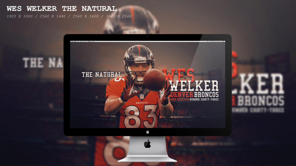 Wes Welker The Natural Wallpaper HD by BeAware8