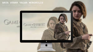 Arya Stark Valar Morghulis Wallpaper HD