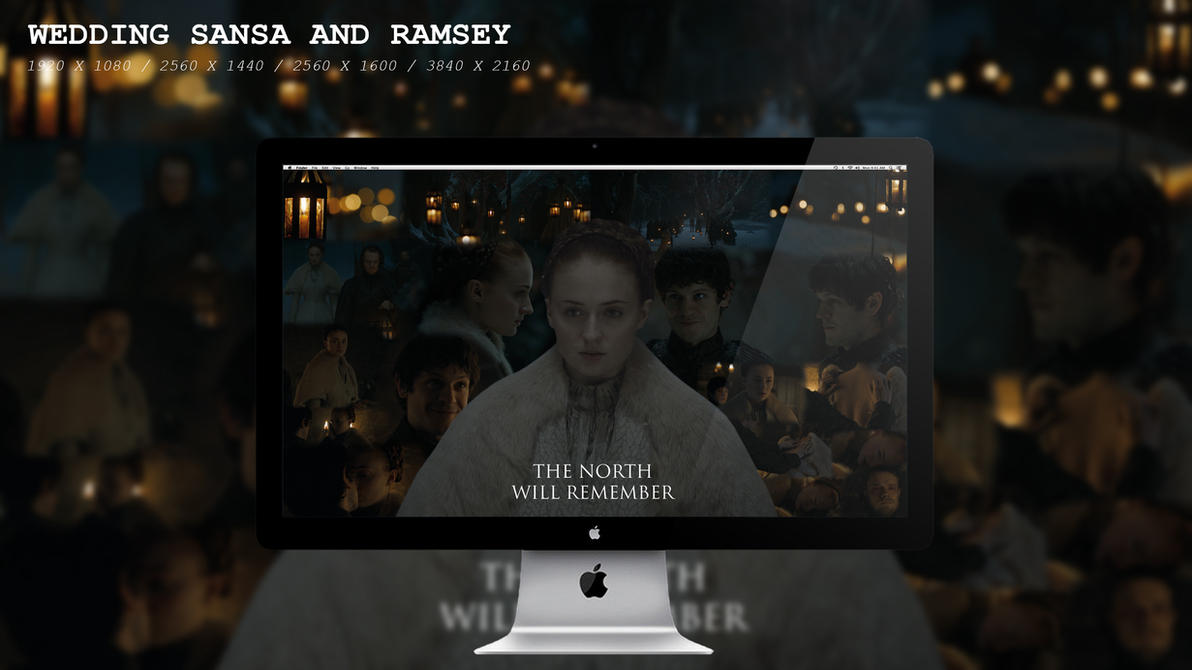 Wedding Sansa and Ramsey Wallpaper HD by BeAware8
