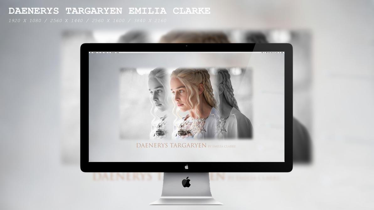 Daenerys Targaryen Emilia Clarke Wallpaper HD by BeAware8