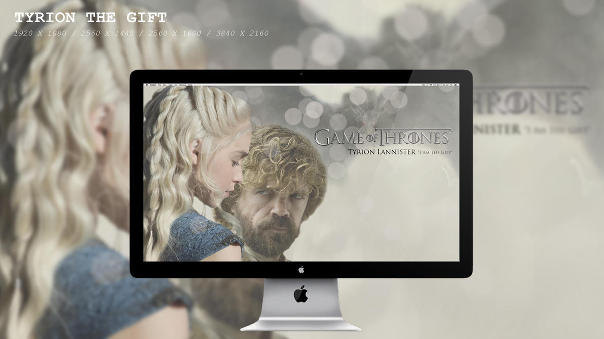 Tyrion The Gift Wallpaper HD by BeAware8