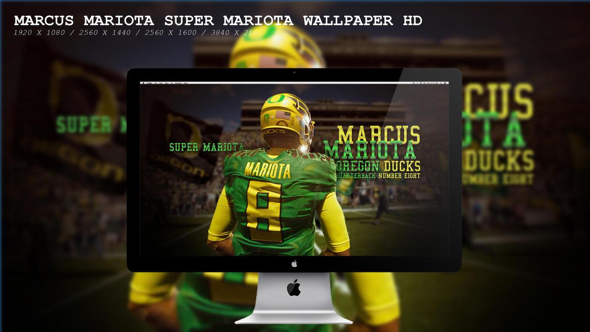 Marcus Mariota Super Mariota Wallpaper HD by BeAware8