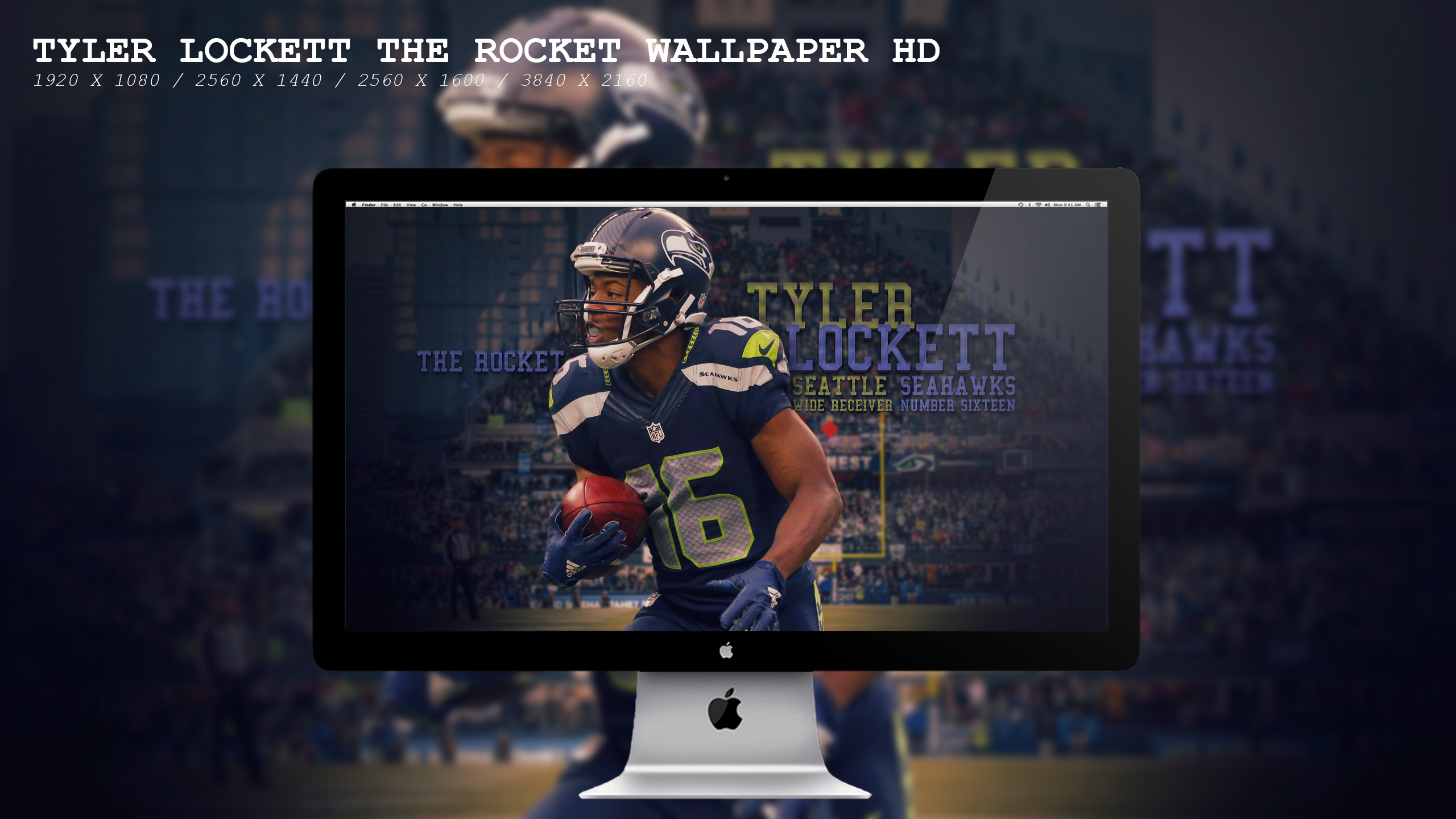 Tyler Lockett The Rocket Wallpaper Hd By Beaware8 On Deviantart