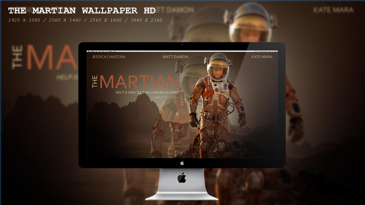 The Martian Wallpaper HD by BeAware8