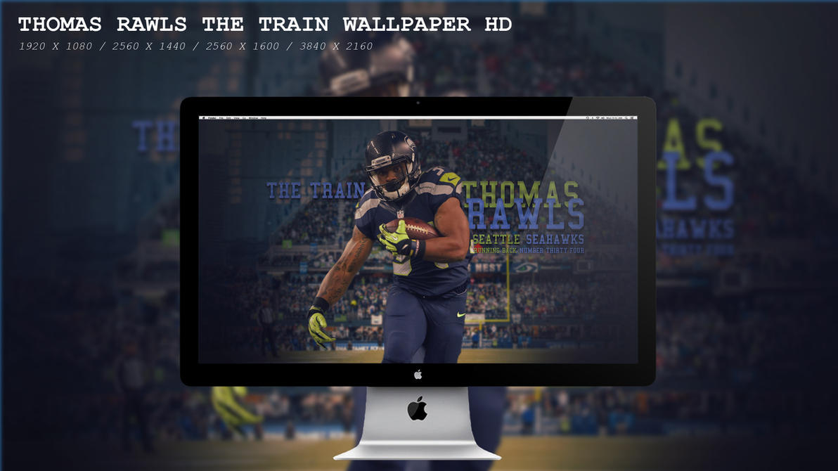 Thomas Rawls The Train Wallpaper HD by BeAware8