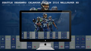 Seattle Seahawks Calandar Saison 2016 Wallpaper HD
