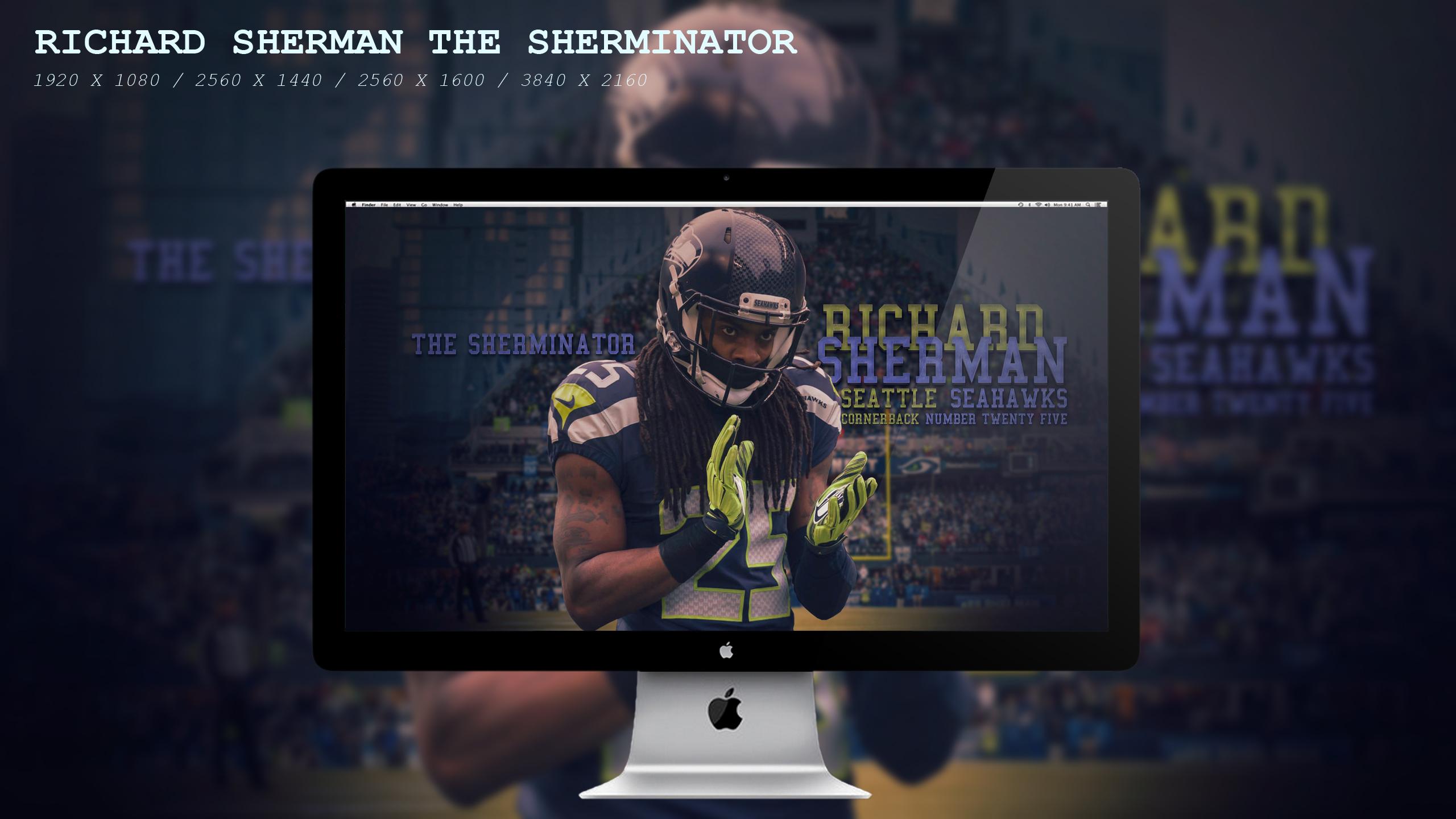 Richard Sherman The Sherminator Wallpaper HD By BeAware8