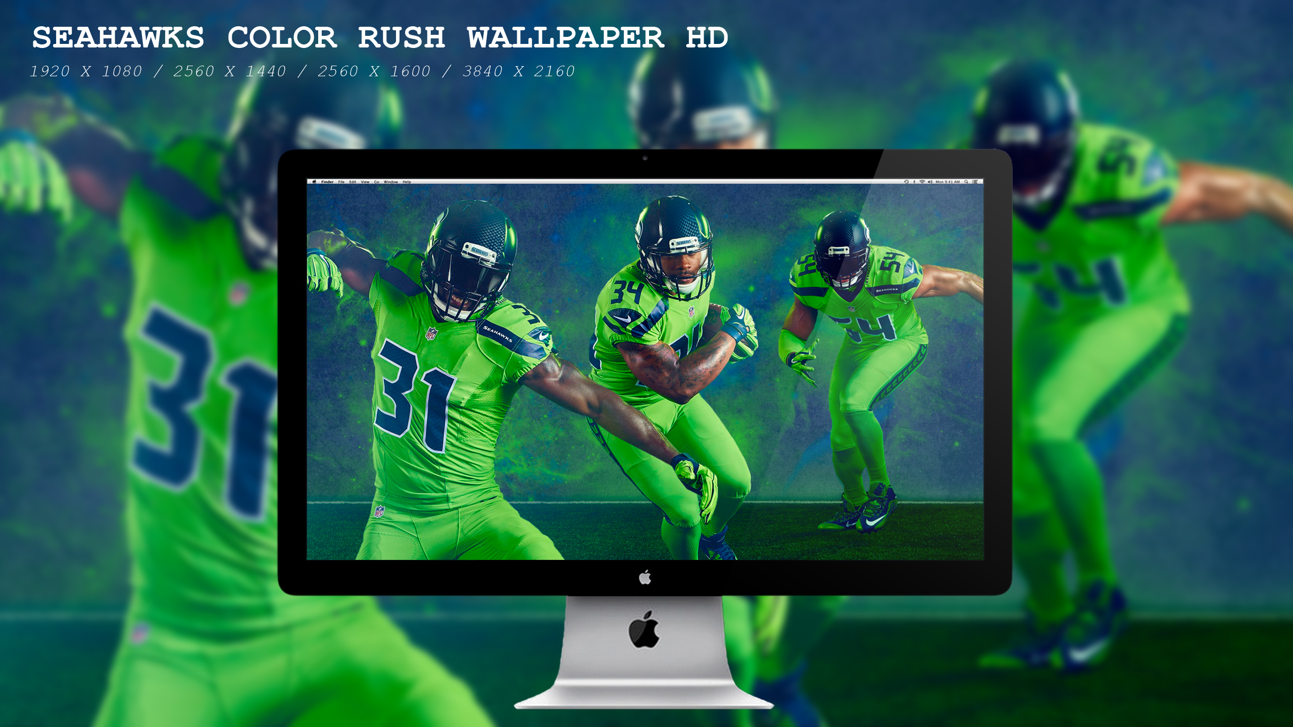 Seahawks Color Rush Wallpaper Hd By Beaware8 On Deviantart