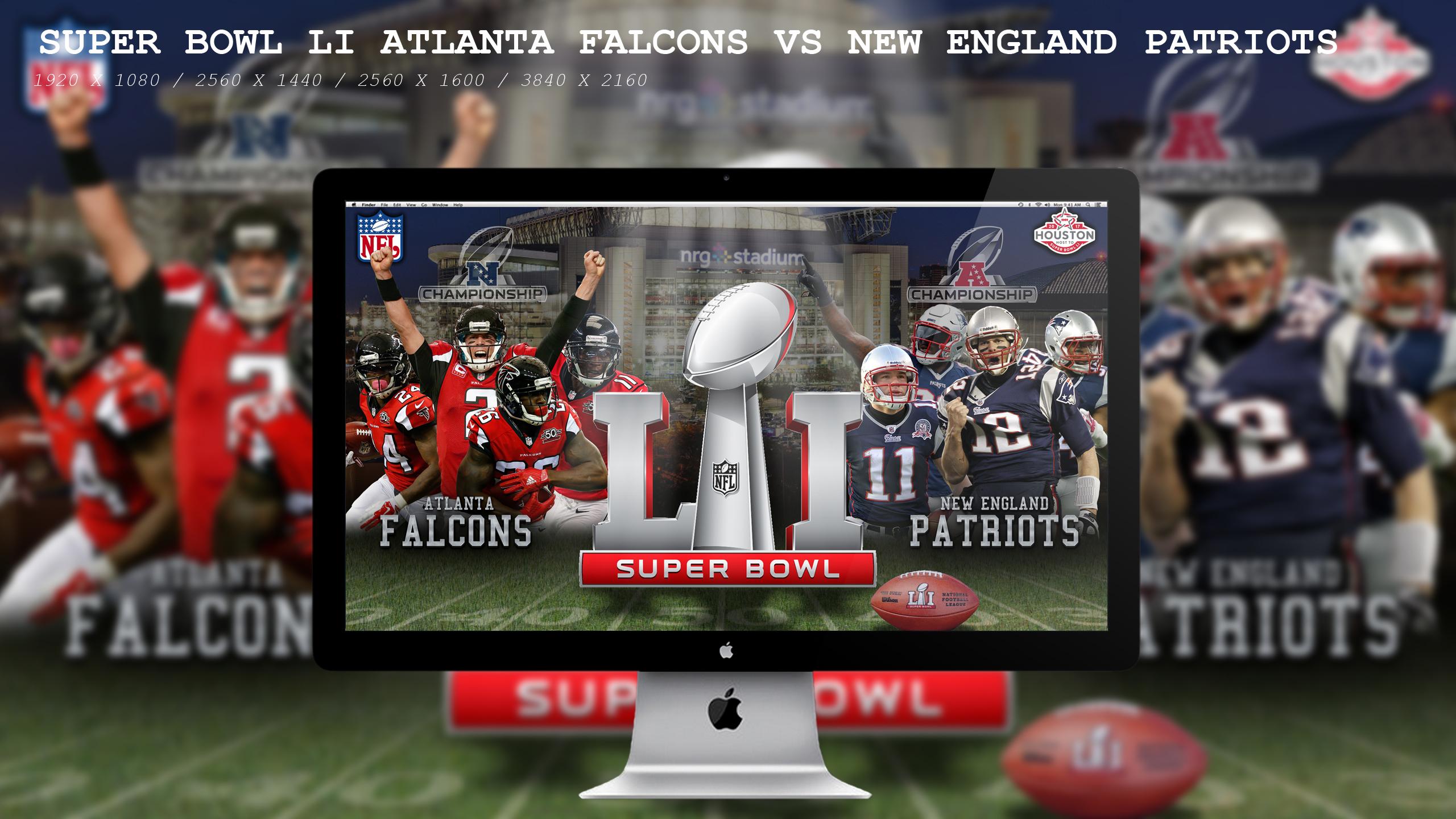 ... Super Bowl LI Falcons Vs Patriots by BeAware8