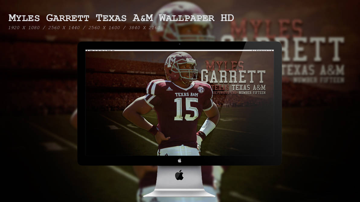 Myles Garrett Aggies Wallpaper HD by BeAware8 ...