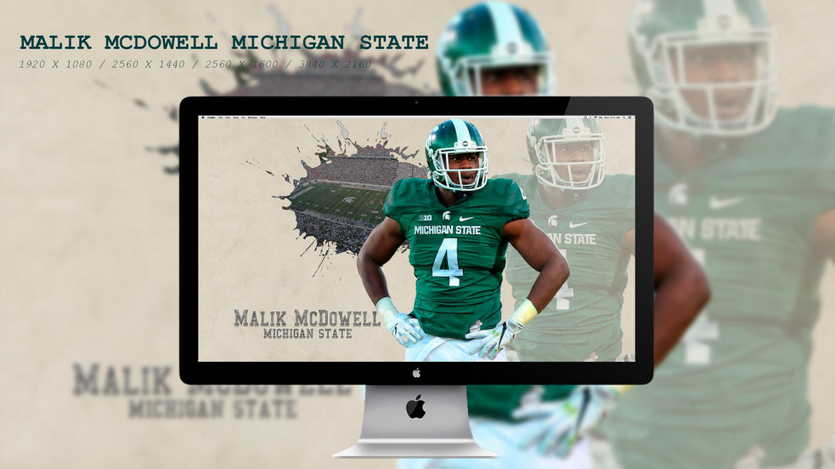 Malik McDowell Michigan State Wallpaper HD by BeAware8