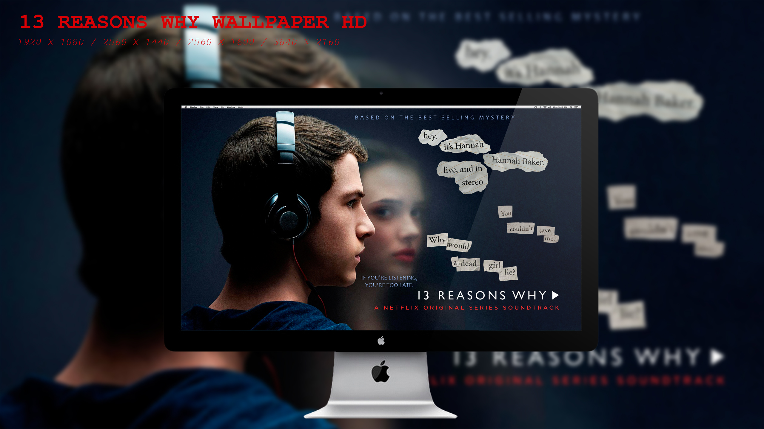13 Reasons Why Wallpaper Hd By Beaware8 On Deviantart